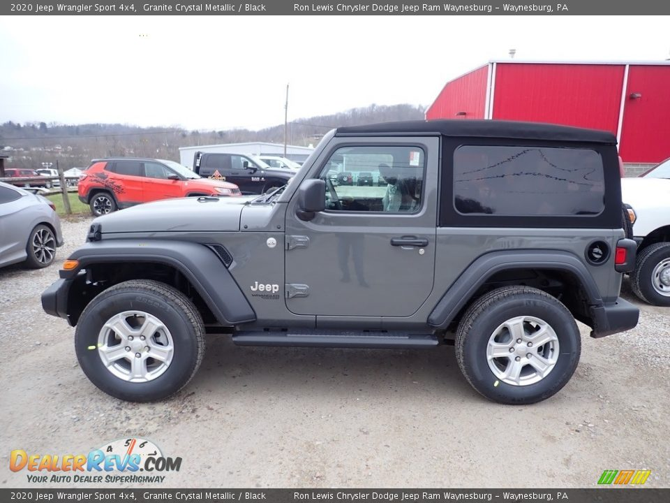 Granite Crystal Metallic 2020 Jeep Wrangler Sport 4x4 Photo #2