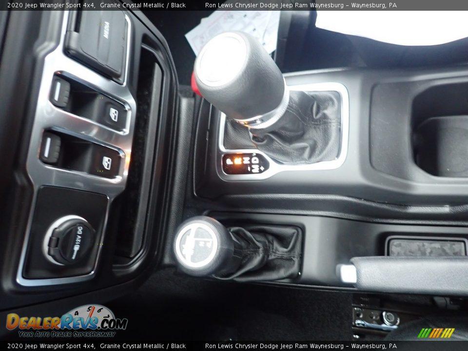 2020 Jeep Wrangler Sport 4x4 Shifter Photo #18