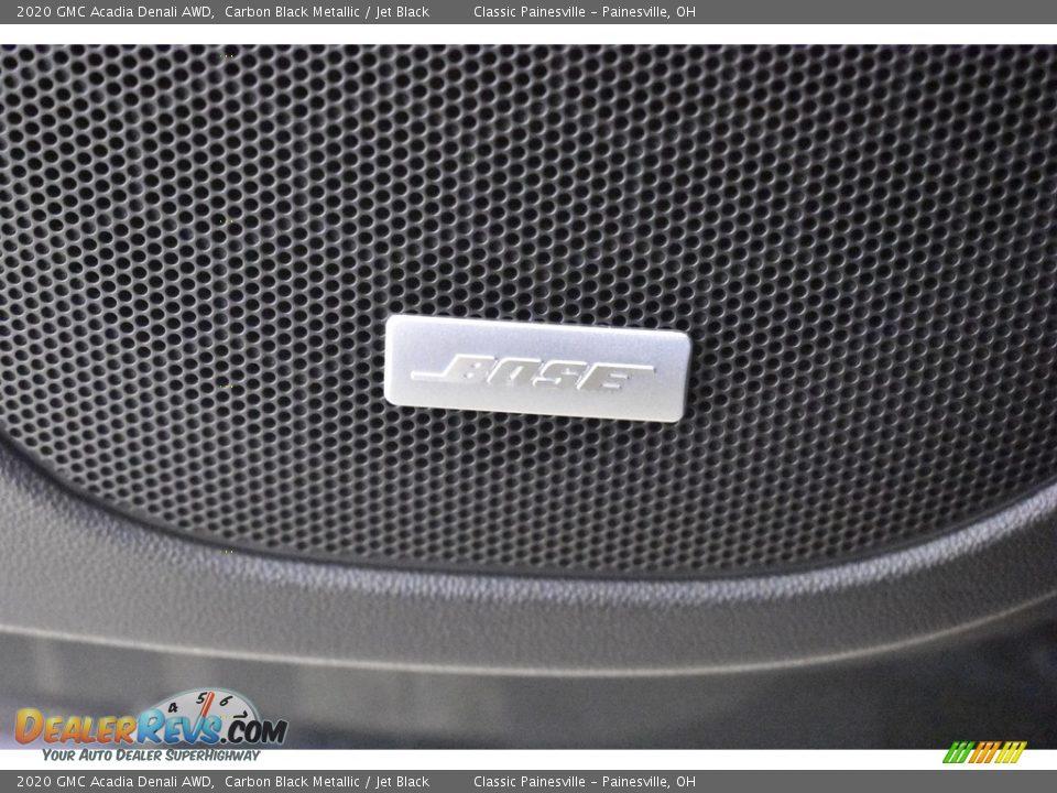 2020 GMC Acadia Denali AWD Carbon Black Metallic / Jet Black Photo #4