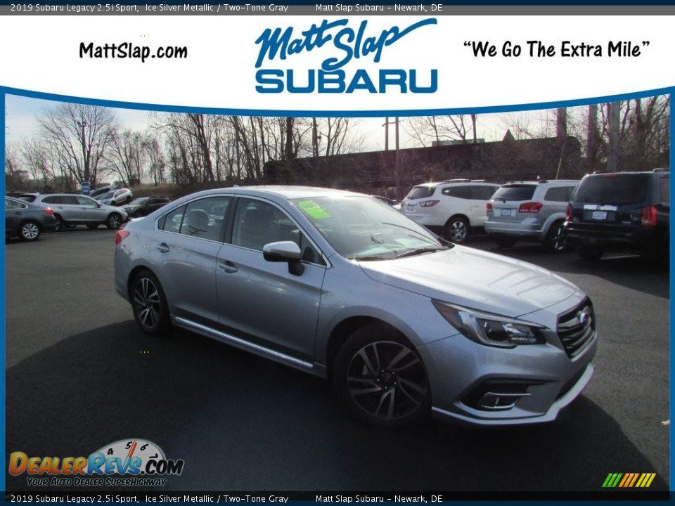 2019 Subaru Legacy 2.5i Sport Ice Silver Metallic / Two-Tone Gray Photo #1