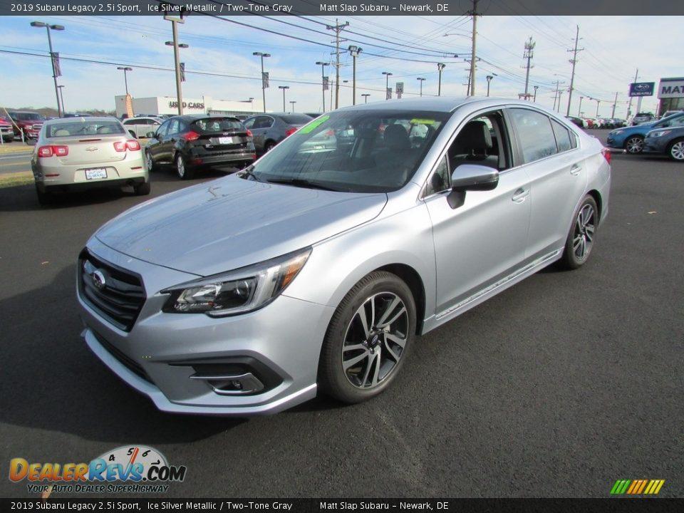 2019 Subaru Legacy 2.5i Sport Ice Silver Metallic / Two-Tone Gray Photo #2