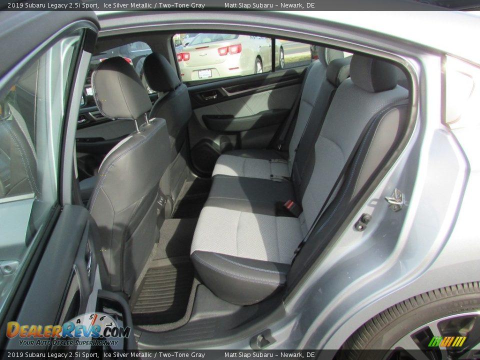 2019 Subaru Legacy 2.5i Sport Ice Silver Metallic / Two-Tone Gray Photo #21