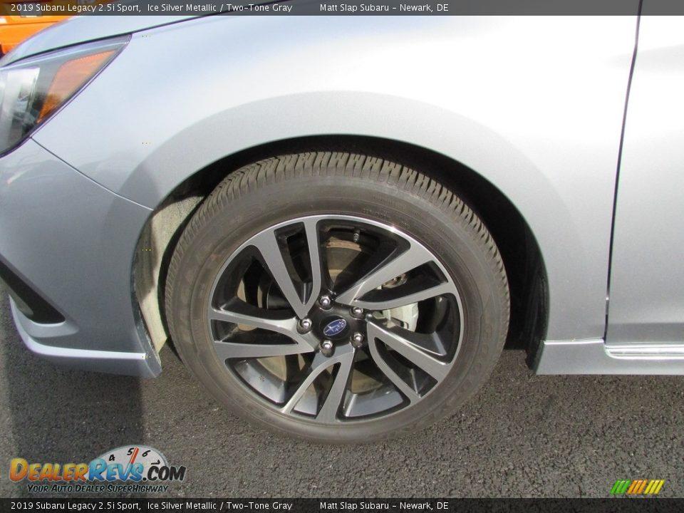 2019 Subaru Legacy 2.5i Sport Ice Silver Metallic / Two-Tone Gray Photo #22