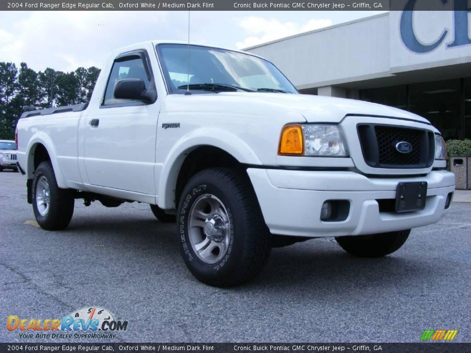 2004 ford ranger edge regular cab oxford white medium dark flint photo 2. Black Bedroom Furniture Sets. Home Design Ideas