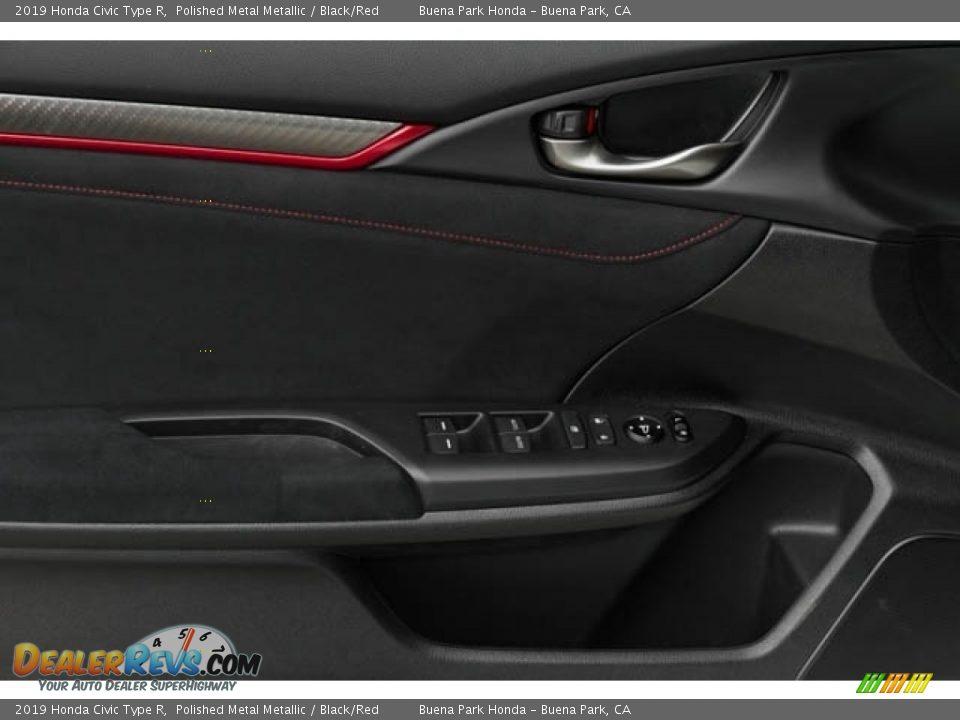 2019 Honda Civic Type R Polished Metal Metallic / Black/Red Photo #23