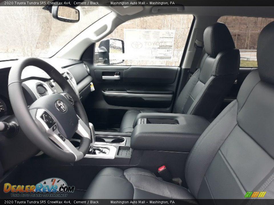 2020 Toyota Tundra SR5 CrewMax 4x4 Cement / Black Photo #24