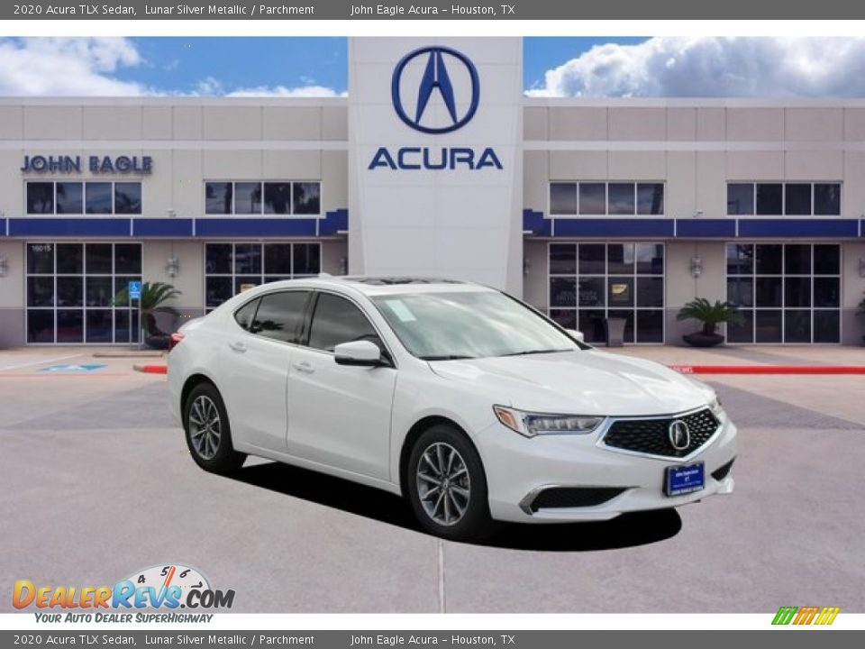 2020 Acura TLX Sedan Lunar Silver Metallic / Parchment Photo #1