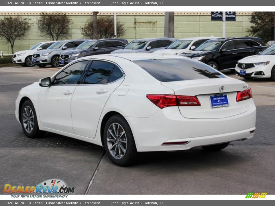 2020 Acura TLX Sedan Lunar Silver Metallic / Parchment Photo #6