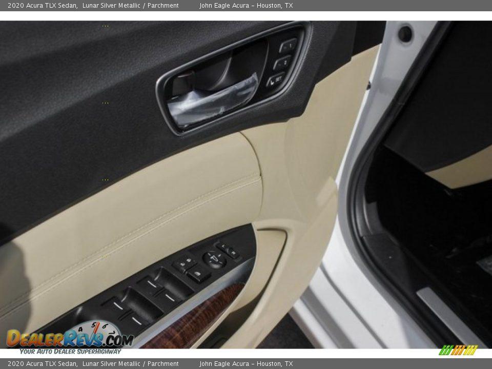2020 Acura TLX Sedan Lunar Silver Metallic / Parchment Photo #13
