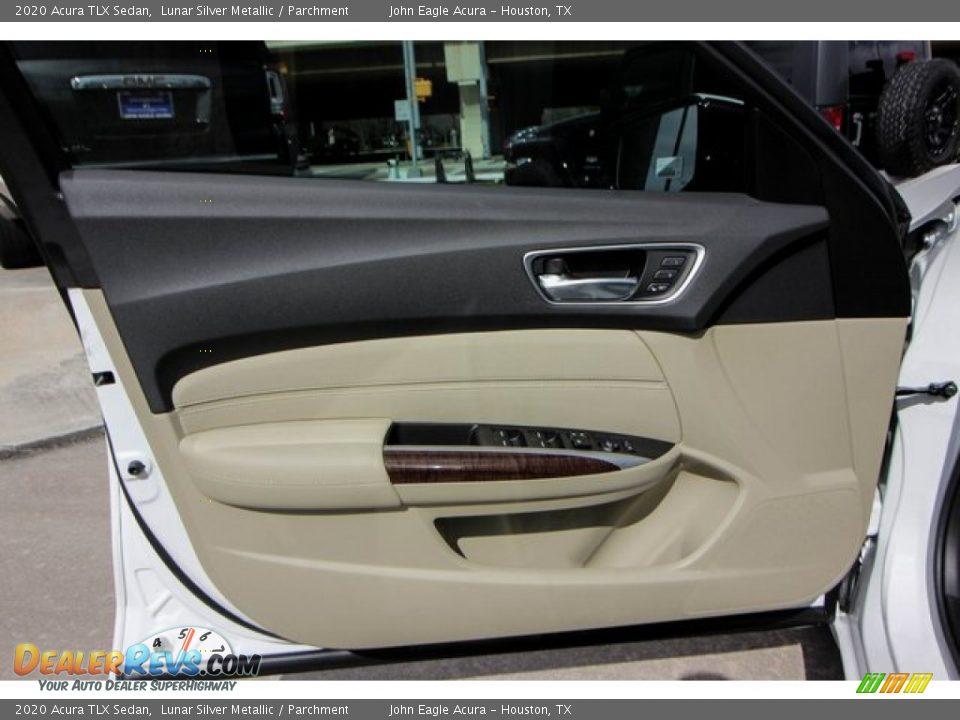 2020 Acura TLX Sedan Lunar Silver Metallic / Parchment Photo #16
