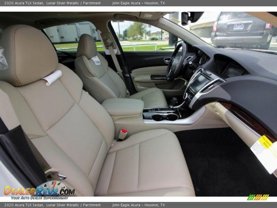 2020 Acura TLX Sedan Lunar Silver Metallic / Parchment Photo #24