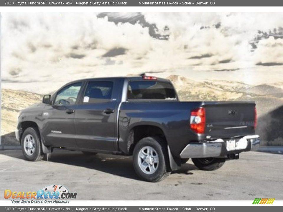 2020 Toyota Tundra SR5 CrewMax 4x4 Magnetic Gray Metallic / Black Photo #3