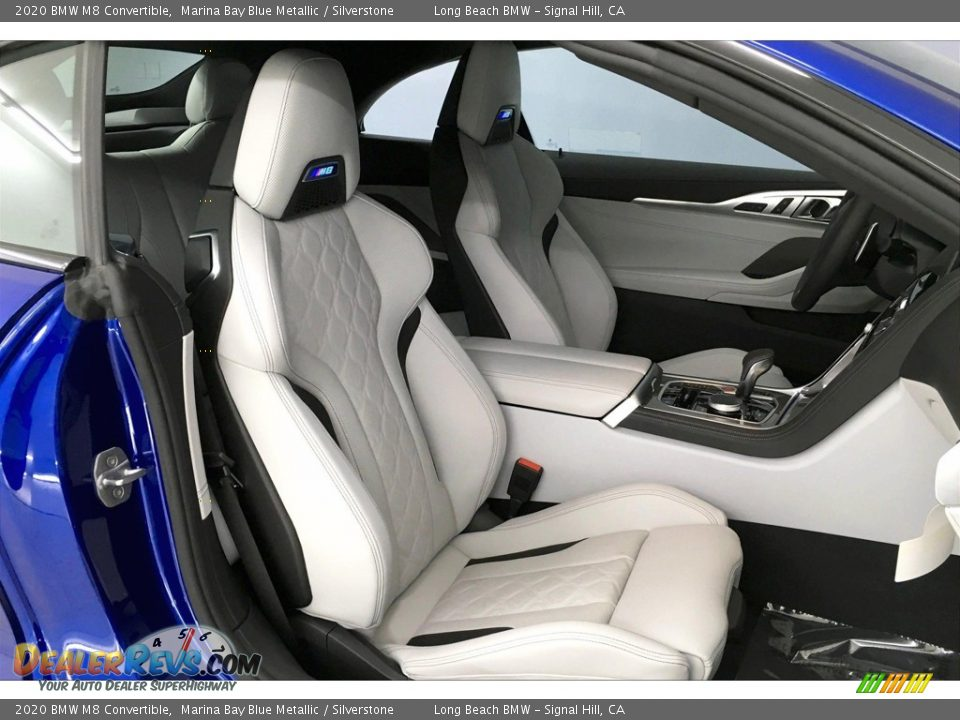 Silverstone Interior - 2020 BMW M8 Convertible Photo #7