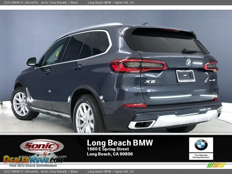2020 BMW X5 sDrive40i Arctic Grey Metallic / Black Photo #2