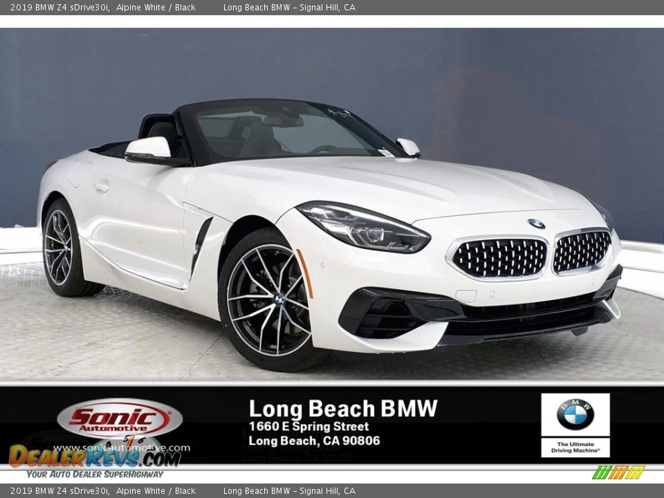 2019 BMW Z4 sDrive30i Alpine White / Black Photo #1