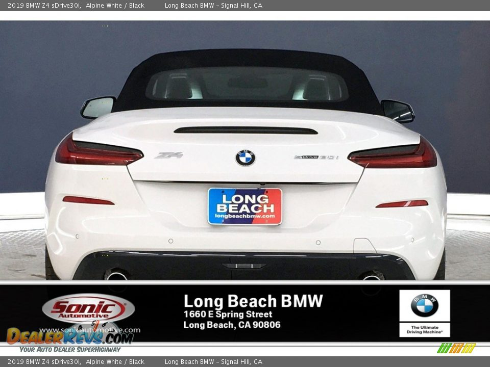 2019 BMW Z4 sDrive30i Alpine White / Black Photo #3