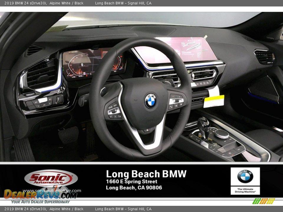 2019 BMW Z4 sDrive30i Alpine White / Black Photo #4