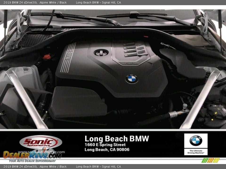 2019 BMW Z4 sDrive30i Alpine White / Black Photo #8