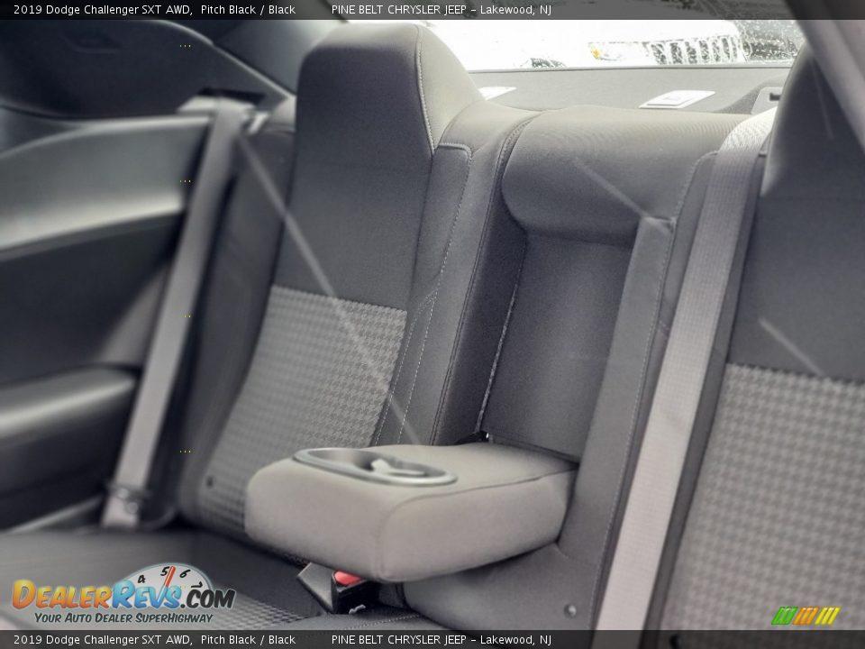 2019 Dodge Challenger SXT AWD Pitch Black / Black Photo #6