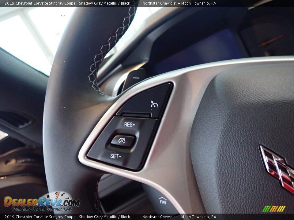 2019 Chevrolet Corvette Stingray Coupe Shadow Gray Metallic / Black Photo #20