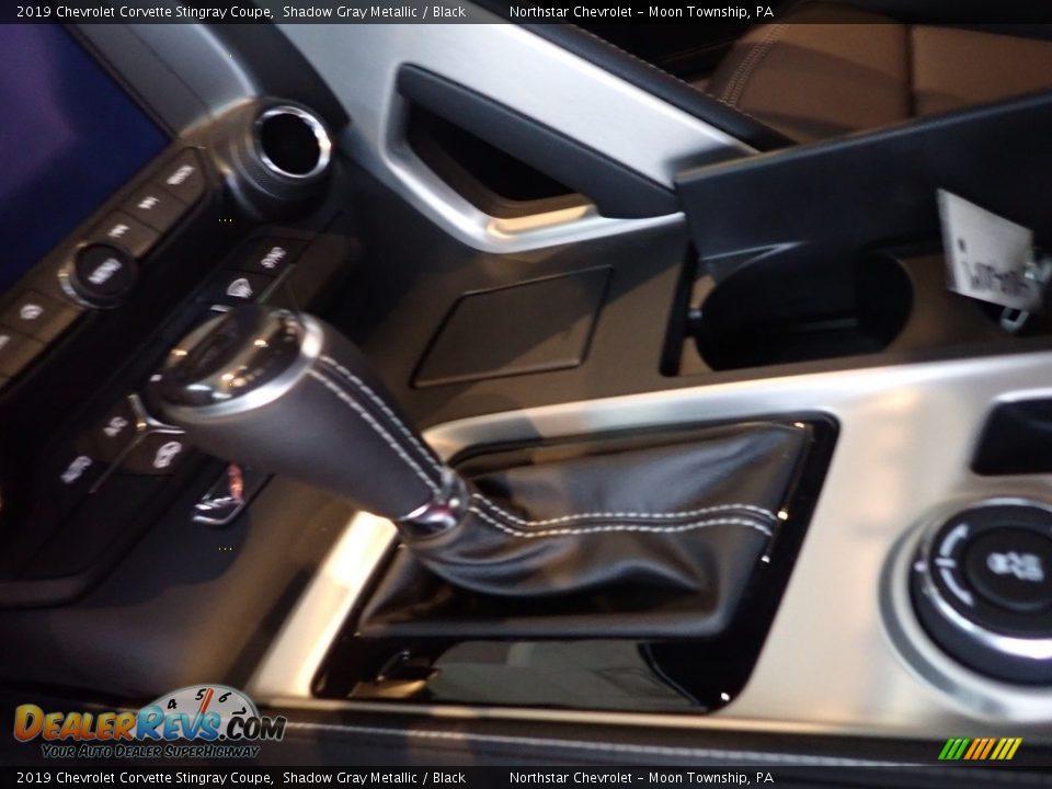 2019 Chevrolet Corvette Stingray Coupe Shadow Gray Metallic / Black Photo #21