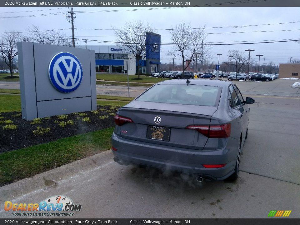 2020 Volkswagen Jetta GLI Autobahn Pure Gray / Titan Black Photo #3