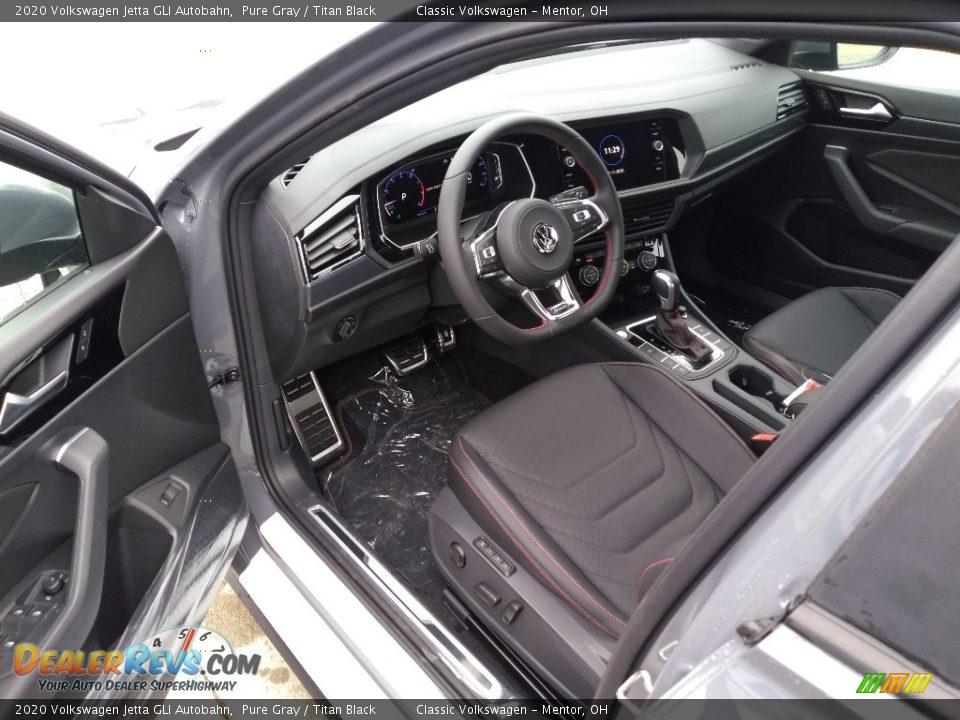 Titan Black Interior - 2020 Volkswagen Jetta GLI Autobahn Photo #5