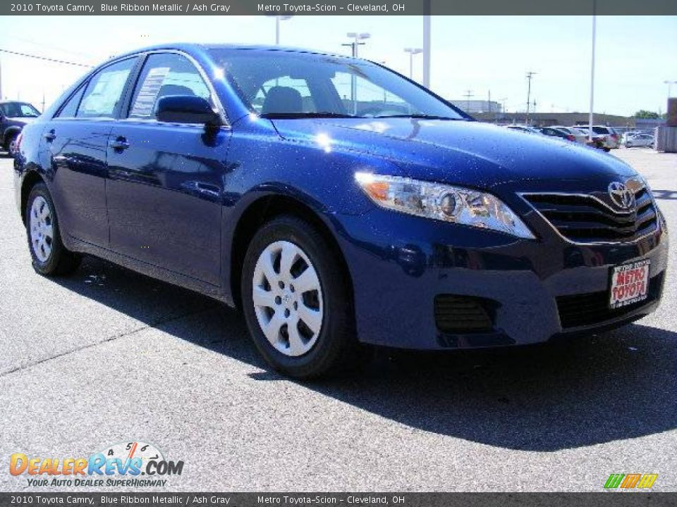 2010 Toyota Camry Blue Ribbon Metallic Ash Gray Photo 1