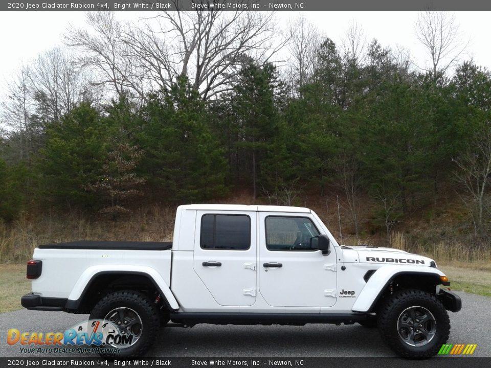Bright White 2020 Jeep Gladiator Rubicon 4x4 Photo #9
