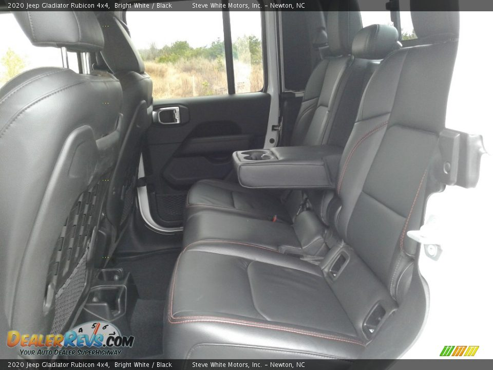 Rear Seat of 2020 Jeep Gladiator Rubicon 4x4 Photo #19