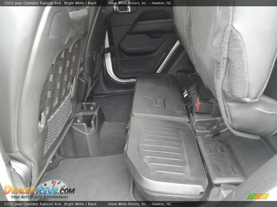 2020 Jeep Gladiator Rubicon 4x4 Bright White / Black Photo #20