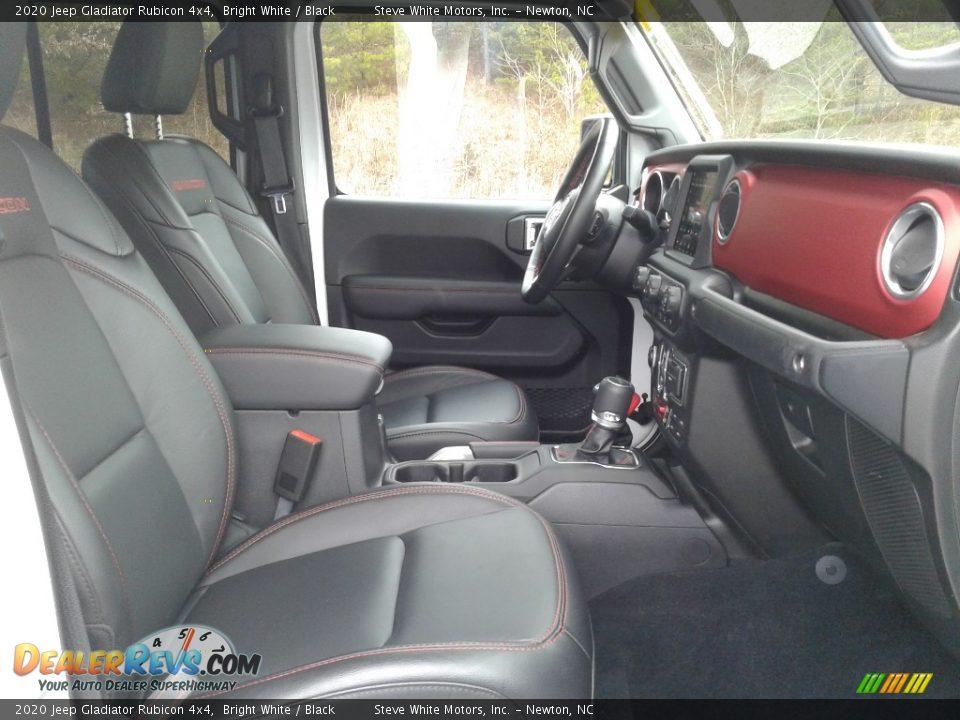 2020 Jeep Gladiator Rubicon 4x4 Bright White / Black Photo #22