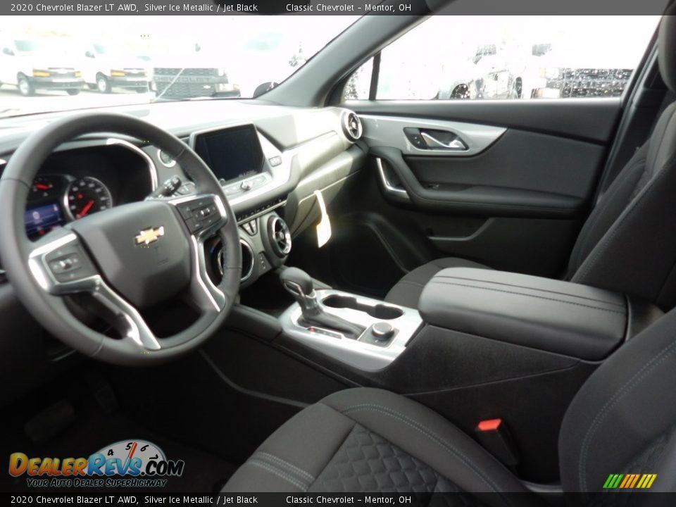 2020 Chevrolet Blazer LT AWD Silver Ice Metallic / Jet Black Photo #6