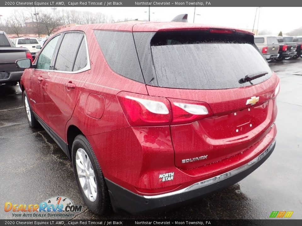 2020 Chevrolet Equinox LT AWD Cajun Red Tintcoat / Jet Black Photo #3