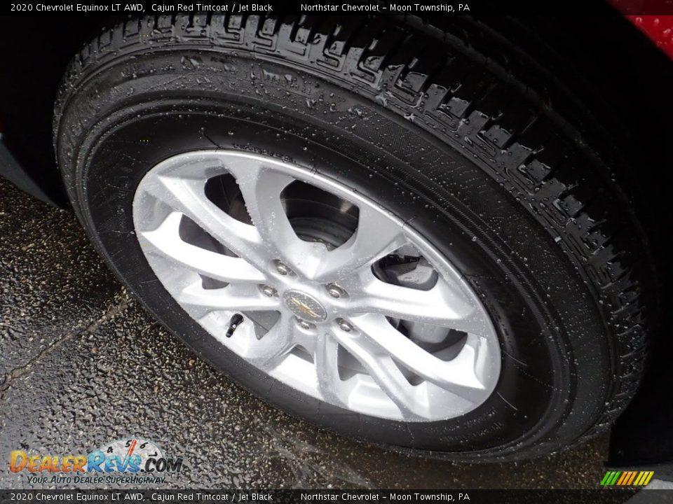2020 Chevrolet Equinox LT AWD Cajun Red Tintcoat / Jet Black Photo #10