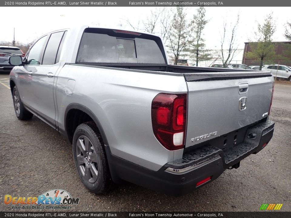 2020 Honda Ridgeline RTL-E AWD Lunar Silver Metallic / Black Photo #2