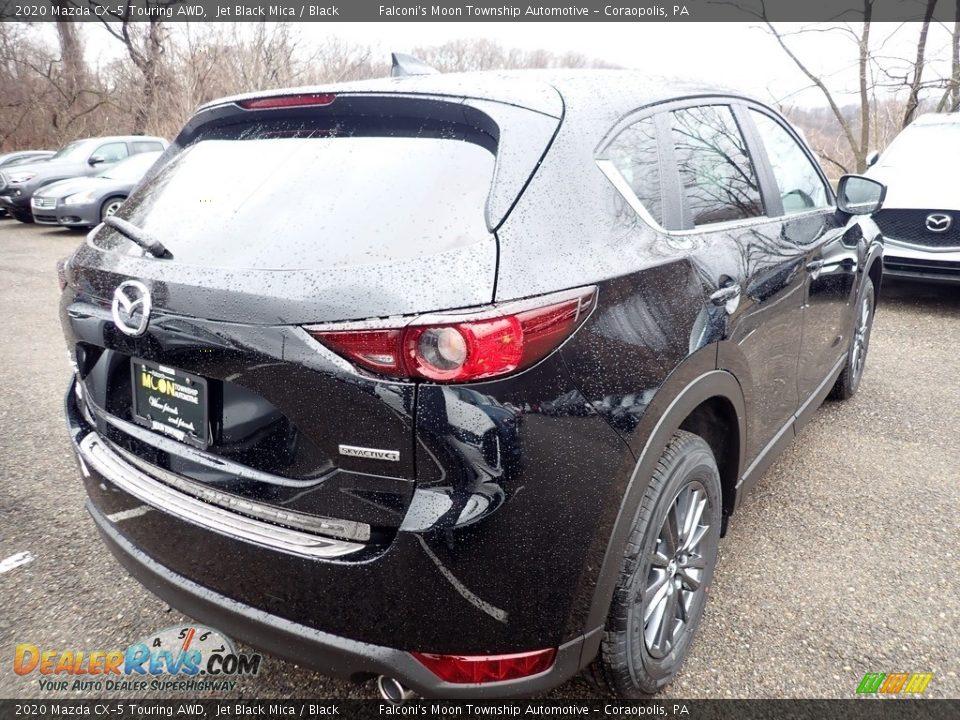 2020 Mazda CX-5 Touring AWD Jet Black Mica / Black Photo #2
