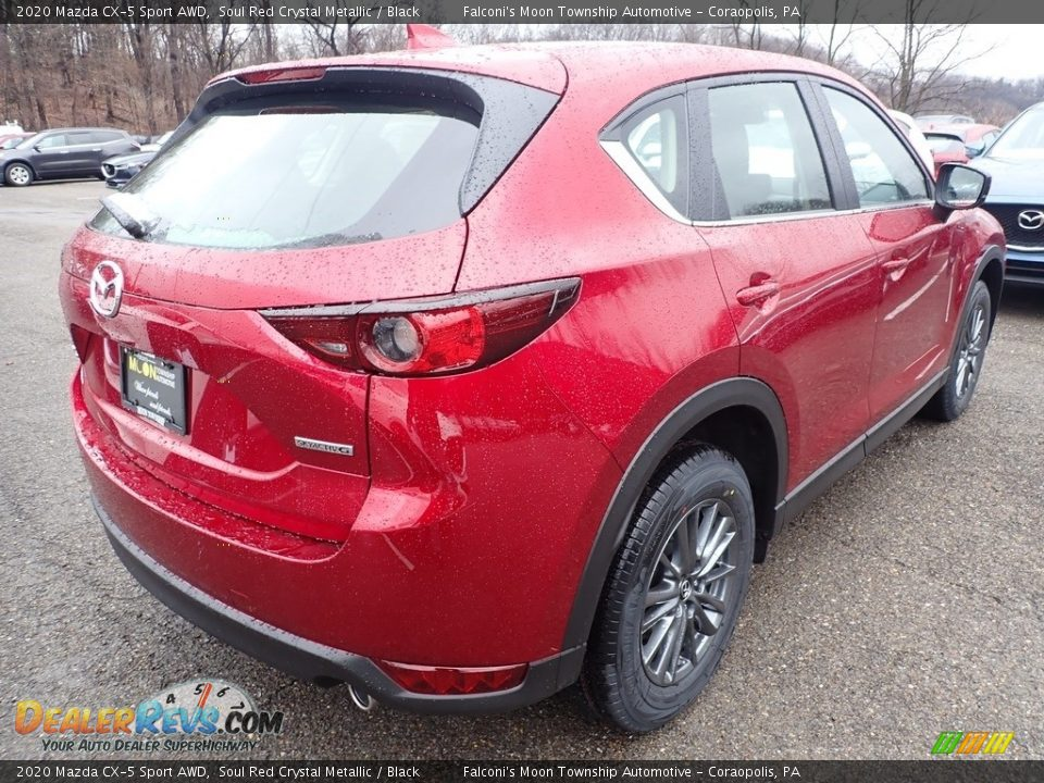 2020 Mazda CX-5 Sport AWD Soul Red Crystal Metallic / Black Photo #2