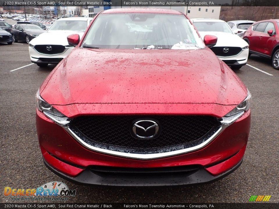 2020 Mazda CX-5 Sport AWD Soul Red Crystal Metallic / Black Photo #4
