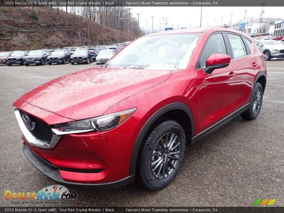 2020 Mazda CX-5 Sport AWD Soul Red Crystal Metallic / Black Photo #5