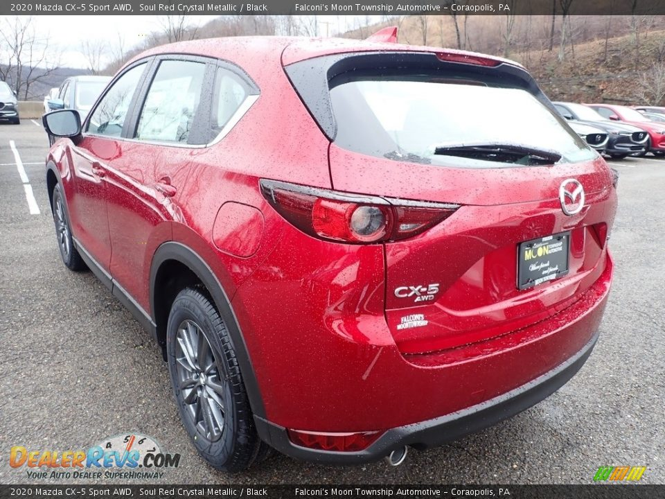 2020 Mazda CX-5 Sport AWD Soul Red Crystal Metallic / Black Photo #6