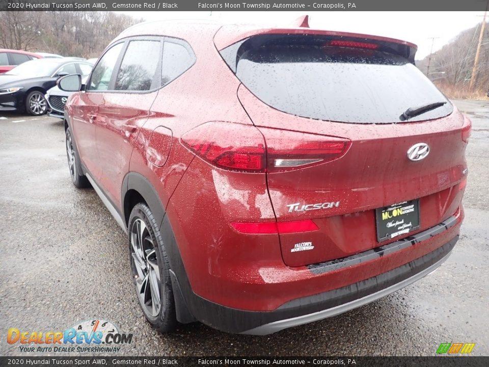 2020 Hyundai Tucson Sport AWD Gemstone Red / Black Photo #6
