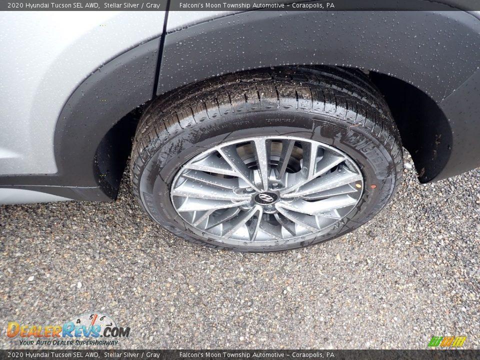 2020 Hyundai Tucson SEL AWD Stellar Silver / Gray Photo #7