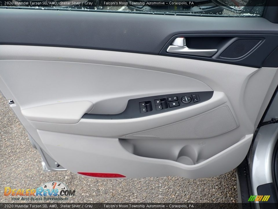 Door Panel of 2020 Hyundai Tucson SEL AWD Photo #11