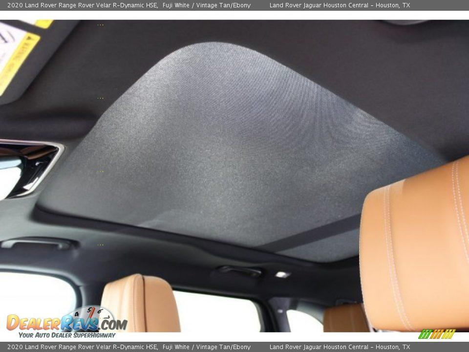 2020 Land Rover Range Rover Velar R-Dynamic HSE Fuji White / Vintage Tan/Ebony Photo #17