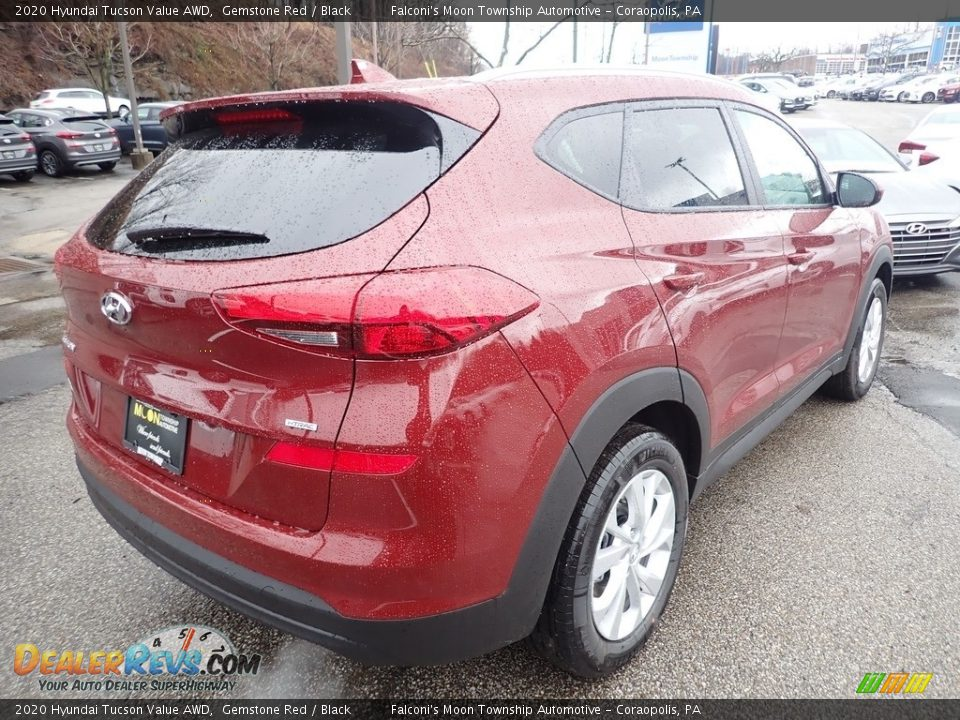 2020 Hyundai Tucson Value AWD Gemstone Red / Black Photo #2