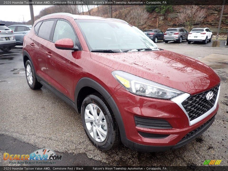 2020 Hyundai Tucson Value AWD Gemstone Red / Black Photo #3