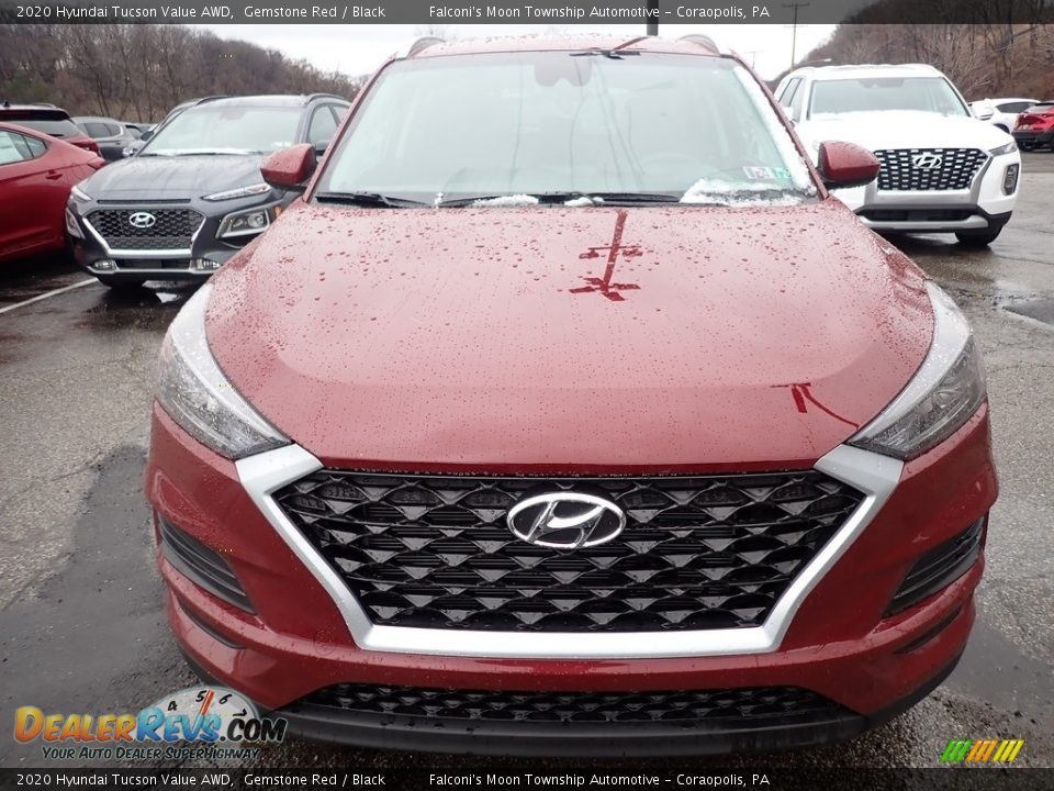 2020 Hyundai Tucson Value AWD Gemstone Red / Black Photo #4