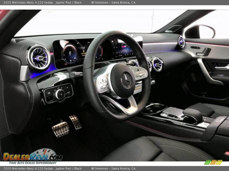 2020 Mercedes-Benz A 220 Sedan Jupiter Red / Black Photo #4