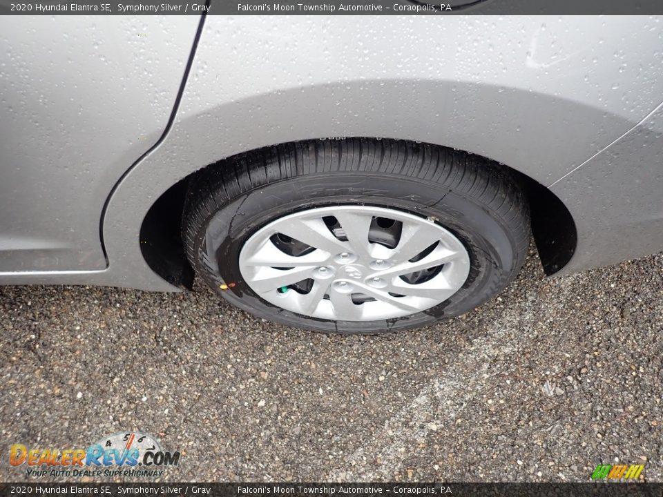 2020 Hyundai Elantra SE Symphony Silver / Gray Photo #7